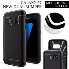 Galaxy S7 Case Dual Layer Shockproof Soft Gel Genuine OZ Cover for Samsung