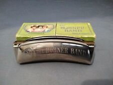 More details for m. hohner the hohner band small harmonica in g in original box