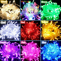 Hotsale 10M/20M 100/200LED Bulbs Christmas Fairy Party String Lights Waterproof