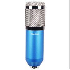 BM-800 Condenser Microphone Studio Pro Audio Pickup Recording MIC + Shock Mount