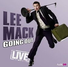 BBC's LEE MACK Going Out LIVE CD - Lee Mack - Comedy Stand-Up -  NEW