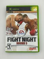 Fight Night Round 3 - Original Xbox Game - Complete & Tested