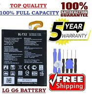 New OEM Original LG BL-T32 3300mAh Battery for LG G6 H870 H871 H872 LS993 VS998