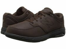 NEW MENS SIZE 7 EXTRA WIDE NEW BALANCE 813 BROWN HEALTH WALKING SHOES / MW813BR