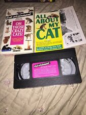 Cat-ertainment: Oh Those Crazy Cats WITH INSERTS Rare HTF