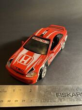 2000 Honda Civic SI Coupe Diescast Car 1/24 Red Variation No. 73275