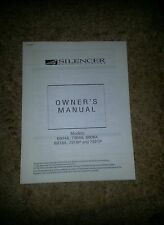 SILENCER SECURITY SYSTEMS; OWNER'S MANUAL; Models:6904A,7904A,6908A,6918A,7919P