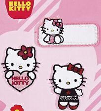 "5,7  cm * 6,5 cm Aufnäher Applikati /"" Hello Kitty /"" Aufnäher // Bügelbilder"