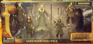 The Hobbit Mirkwood Hero Pack Desolation of Smaug Action Figure NEW AUTHENTIC