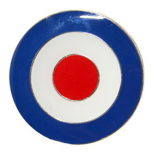 Mod Target Enamel Pin Brooch Badge Jam Who 60s RAF Scooter Roundel Northern Soul