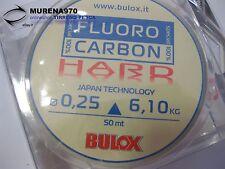 MONOFILO BULOX FLUORO CARBON 100% HARD 50mt 0,25mm 6,10kg - FIL69