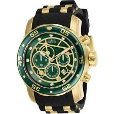 Invicta Pro Diver 25708 Men's Round Green Analog Chronograph Date Silicone Watch