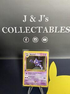Pokémon Shadowless 1st edition Base Set 29/102 Haunter non holo card Italian