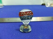 vtg badge balloon pound in your pocket money and its value finance advertising