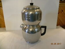 Vintage West Bend Aluminum Quick Drip Coffee Pot