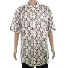 EZEKIEL Men's S/S Button-Up Shirt BALI - PINK - Small - NWT