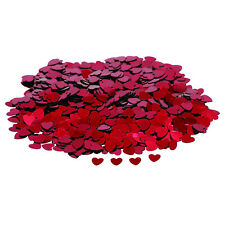 Red Heart Table Confetti / Sprinkles - 14g - Wedding/Party Decoration/Valentines