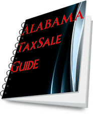 ALABAMA State Tax Lien Certificate Tax Sale Guide