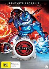 Chaotic : Season 2 M'arrillian Invasion (DVD, 2010, 3-Disc Set) New Region 4
