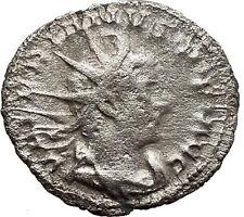 VALERIAN I 253AD Viminacium mint  Silver Ancient Roman Coin Virtus Cult   i34139