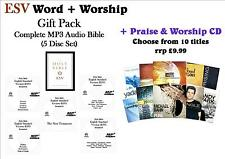 ESV Word+Worship Pack (5 CDs) - ESV MP3 Audio Bible +CD: Only £6.99!! WOW!!