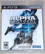 Playstation 3 - Alpha Protocol (New)