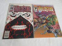 Image Comics WILDSTAR #1 (Flat Foil Newsstand Variant) + #2 Ordway VF/NM