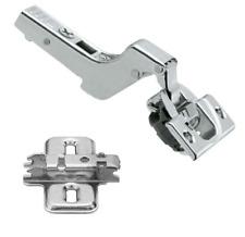 Blum Soft Close Blumotion Inset Crank Hinge 110 ClipTop 71B3750 & Mounting Plate