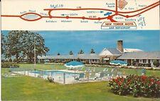 Weldon, NORTH CAROLINA - New Yorker Motel & Restaurant - MAP, ARCHITECTURE,  AAA