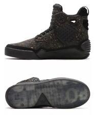 Supra Skytop IV x Muska Black Cork Super Rare Men Skateboarding Shoe - Size 8.5