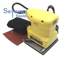 10,000opm 1.3Amp 1/4-sheet ELECTRICAL ORBITAL PALM SANDER w/ Removable Dust Bag