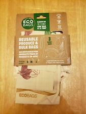 Eco-Bags Reusable Organic GOTS Cotton Mixed Set Produce & Bulk Bags S M L