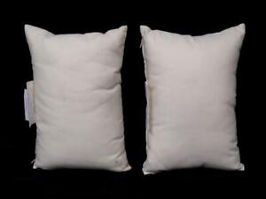 Lot of 2 Noble Home Furnishing Home Outdoor Toss Pillows Throw Cream Colored