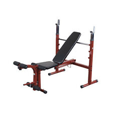 Best Fitness Olympic Bench with Leg Developer BFOB10 NEW