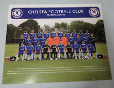 #BW8.  CHELSEA  FOOTBALL CLUB  POSTER -  2008/2009 SEASONS