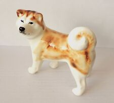 Akita dog figurine NEW Author's Porcelain figurine + Gift Box NEW
