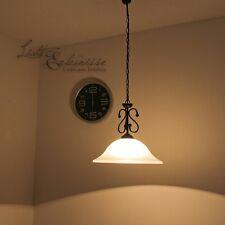 Landhaus Deckenlampe Hängeleuchte Hängelampe Rustikal Esszimmer Pendelleuchten