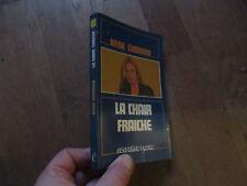 COLLECTION SUSPENSE POCHE 108 RENE CHARVIN la chair fraiche  euredif 1979