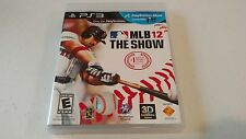 MLB 12 The Show ~ ~ ~ Sony PlayStation 3 ~ ~ ~ COMPLETE & EUC ~ ~ ~ ps3