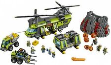 LEGO City Volcano Heavy-lift Helicopter (60125), Building Set 8 Minifigures New
