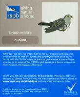 RSPB Pin Badge | Cuckoo | GNaH [01282]