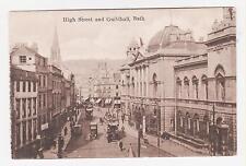 Bath,U.K.High Street & Guildhall,Somerset,c.1909