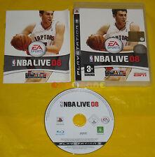 NBA LIVE 08 Ps3 Versione Ufficiale Italiana 1ª Edizione •••••• COMPLETO
