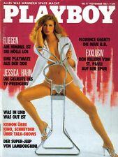 PLAYBOY 1987/11 [November 87] * Florence Geanty * Jana Uhlmann*Jessica Hahn* TOP