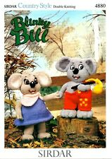 Toy Knitting Pattern for Blinky Bill & Nutsy;Knitted in DK Yarn!