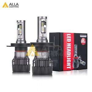Alla Lighting 10000lm H4 LED hi   lo  Dual Beam hd-light  Light Bulb Lamp,White
