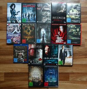 16 Filme Sammlung DVD, Blu-ray *Thriller, Action, Horror, Mystery, Underworld