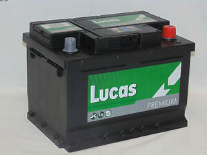 Car Battery TYPE 063 - Lucas LP063 FITS PEUGEOT, CITROEN, DACIA, HYUNDAI, MAZDA