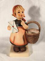 """Goebel Hummel Figurine TMK5 #13/0 """"Meditation"""" 5.25"""" Tall"""