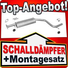 Mittelschalldämpfer FORD MONDEO III 1.8 2.0 16V 2000-2006 Auspuff HJP